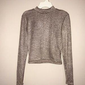 Long-sleeved, crop top from Charlotte Russe